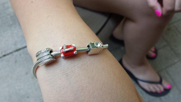 Soufeel Jewelry Sterling Silver Charm Bracelet