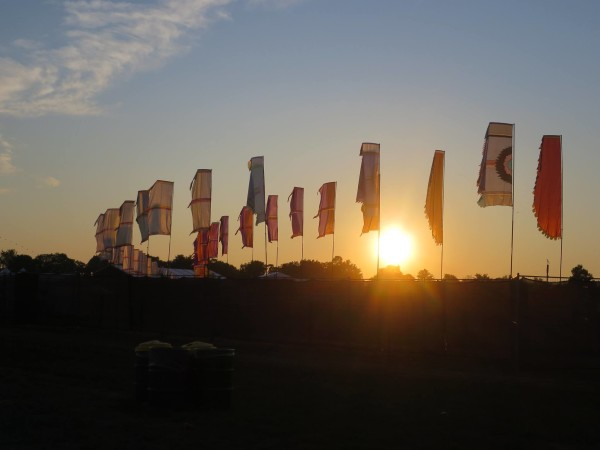 Sunset at WayHome Music Festival 2015