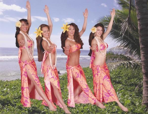 Hula Dancers at Coconut Festival