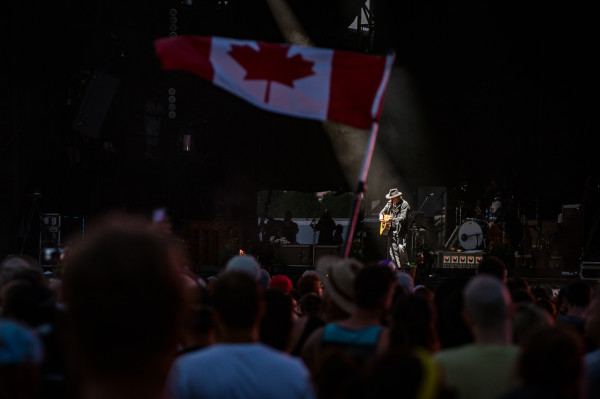 Neil Young performs at WayHome Festival, copyright Matt Forsythe