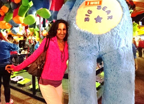 Big Teddy Bear at the CNE