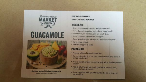 Chef Andre Walker's Guacamole recipe