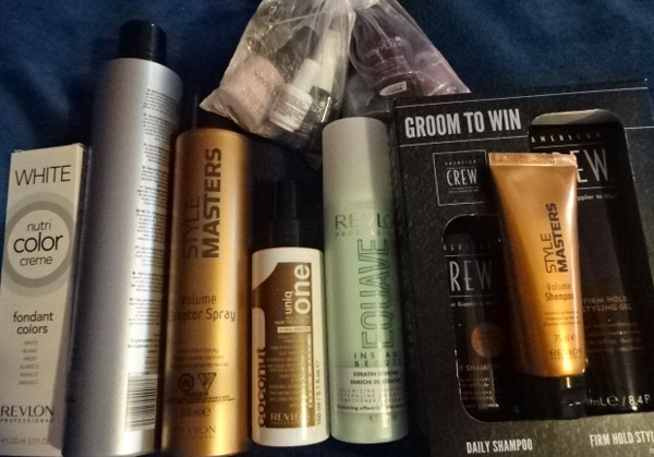 Revlon products give a professional finish at home.