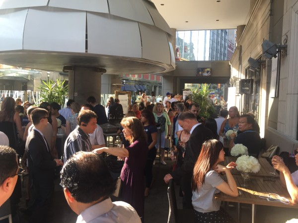 Nobilo event at Oliver & Bonacini Cafe on August 19 2015