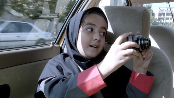Jafar Panahi's niece Hana Saeidi, credit Kino Lorber