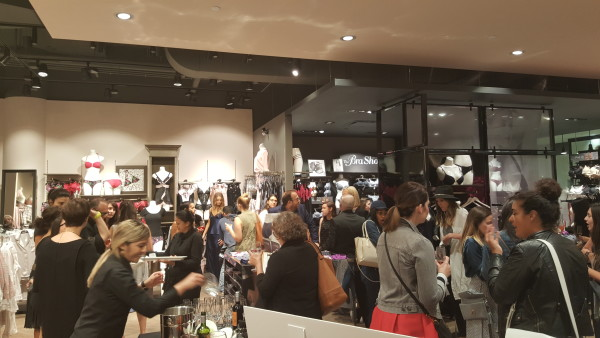 la Vie en Rose anniversary launch party at Toronto Eaton Centre