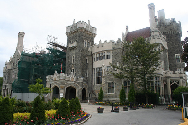 Casa Loma, Toronto, photo credit Bobolink