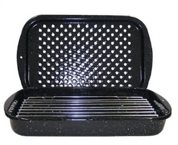 Granite Ware 3 Piece Bake Broil and Grill Pan Set, $32.99 CAD