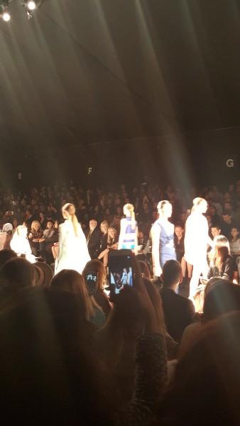 Matthew Gallagher Show at World MasterCard Fashion Week in Toronto