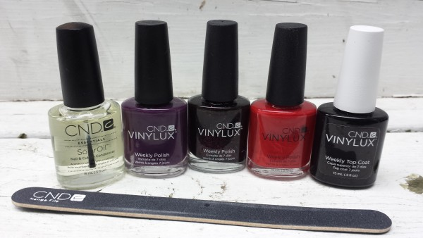 Nail polishes I received from CND