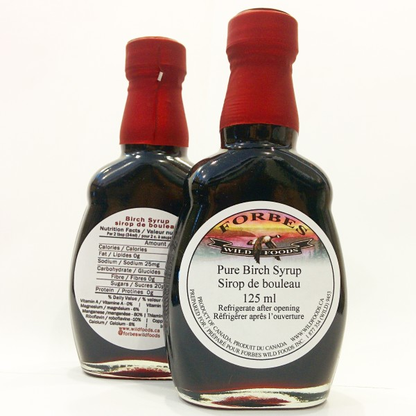 Pure Birch Syrup by Forbes Wild Foods