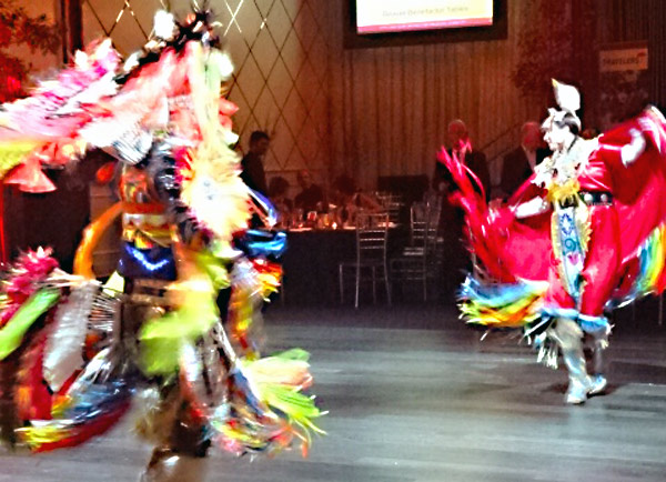 Tribal Vision Drummers and Dancers at The True North Gala