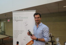 David from Skin Essence Organics at Whole Life Expo media preview Nov. 18 2015