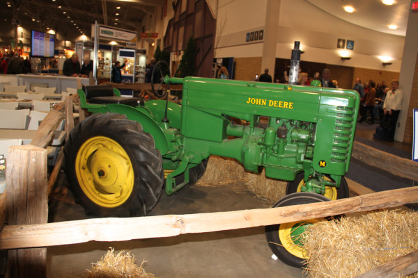 John Deere Tractor at Royal Winter Fair 2015