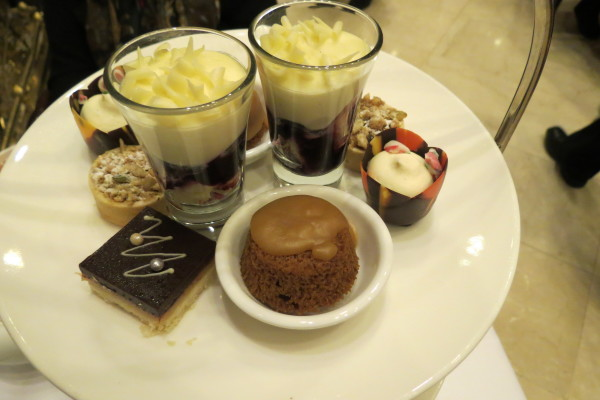 Pastries at Nutcracker Afternoon Tea at King Edward Hotel