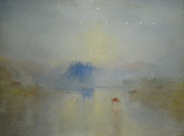 Norham Castle by J.M.W. Turner at the Art Gallery of Ontario