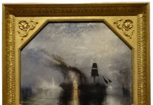 Peace - Burial at Sea by J.M.W. Turner at the AGO