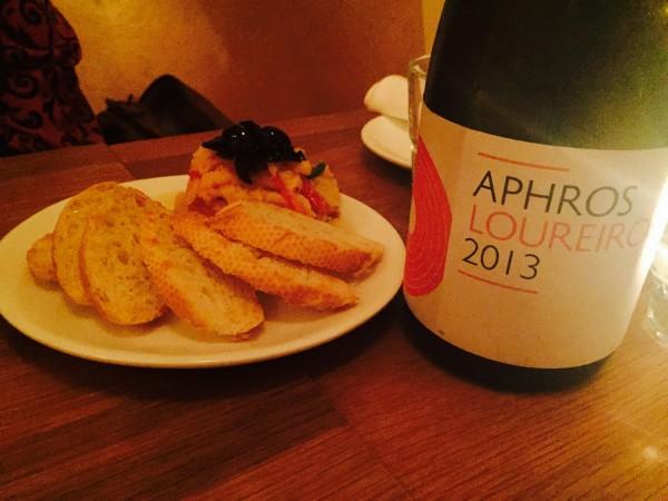 Ceviche and Aphros Loureiro 2013