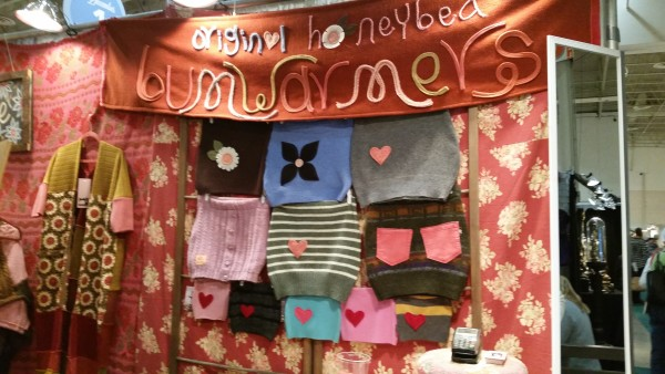 Honey Bea Bum Warmers at One of a Kind Christmas Show Toronto