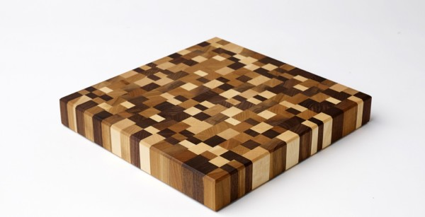 Mosaic End Grain Butcher Block from Emerson Pringle Carpentry