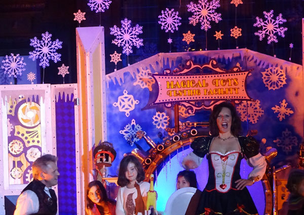 The 30 minute spectacle of illusions and wonder amazed audiences young and old alike at Magical Winterland Nights.