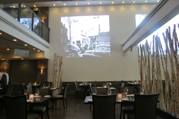 Interior of The Forth Restaurant, Toronto