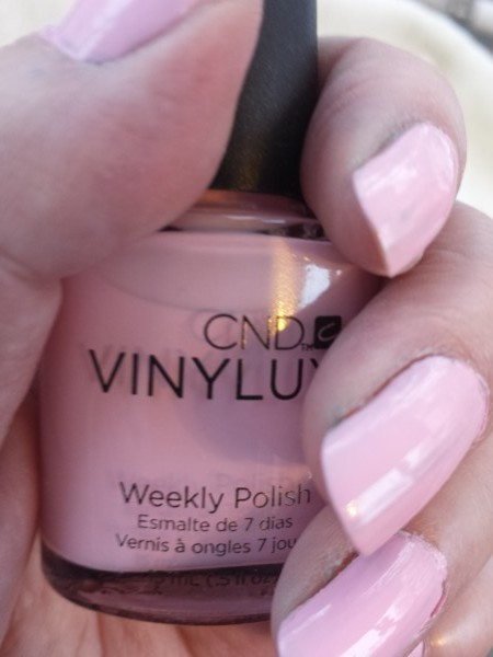 Be Demure from CND Vinylux Flirtation Collection