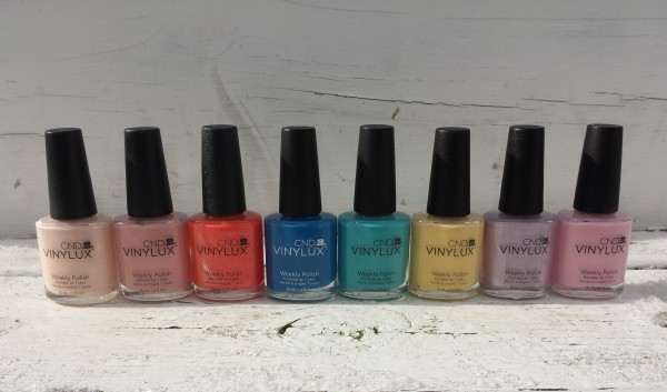 CND Vinylux Flirtation Collection Summer 2016