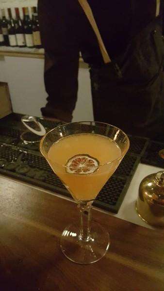 Cosmonaut cocktail at Ufficio restaurant