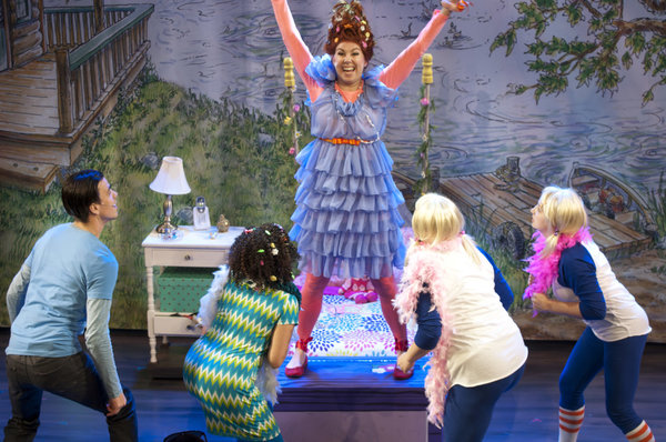 Fancy Nancy The Musical at The LOT in Toronto, photo Seanna Kennedy Photography