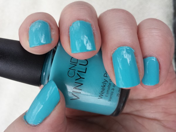 Aqua-Intance nail polish from CND Vinylux Flirtation Collection