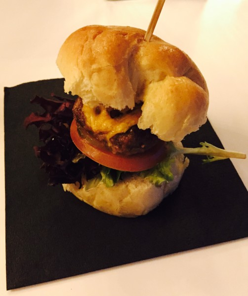 Beef Slider at Entice Culinary Lounge