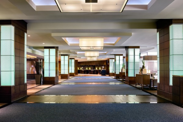 Lobby at Westin Harbour Castle in Toronto