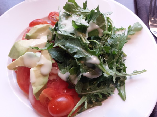 Rocket, Tomato and Avocado Salad with Honey, Lemon and Pepper Vinaigrette, $6, at The Chartroom Bar & Lounge