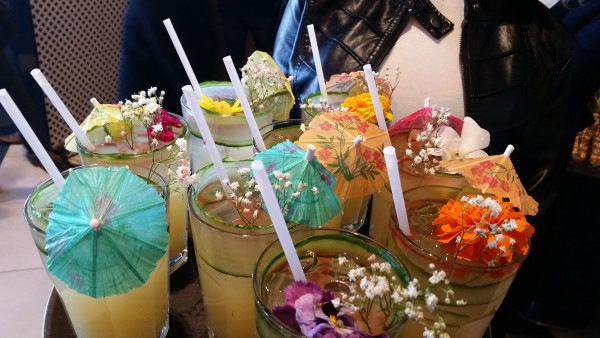 Mocktails at Paramount Fine Foods grand opening at Shops at Don Mills