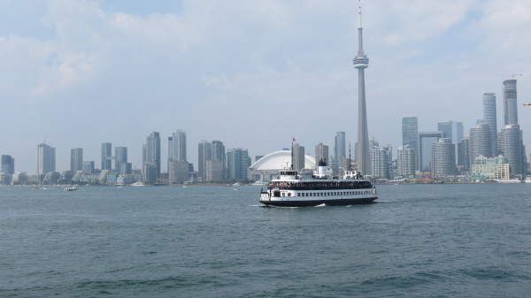 Ferry crossing to Centre Island