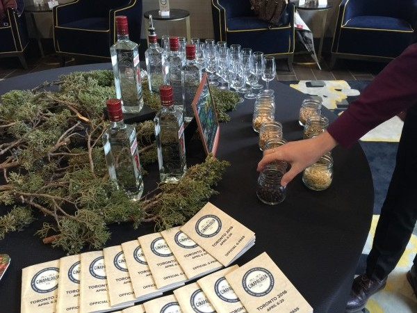 Ginapalooza event at Thompson Toronto on April 6, 2016
