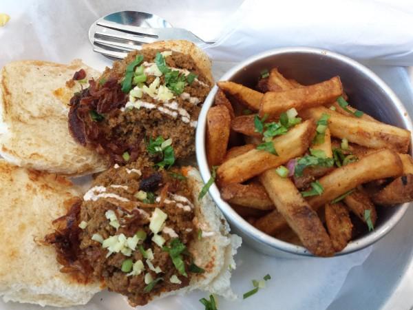 Beef Kheema Pav, $11.95, at Bombay Street Food