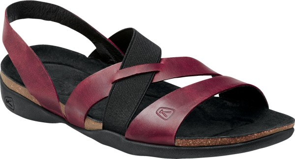 Dauntless Strappy Sandle in Red Dahlia from KEEN new sandals for 2016