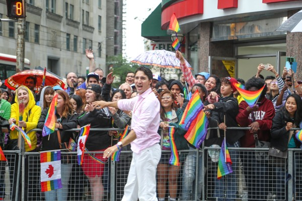 Pride Toronto 2015 Pride Parade, photo by NaJin Lim, one of the popular things to do Canada Day weekend in Toronto 2016