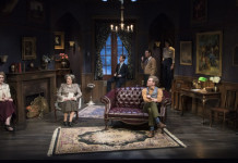 Cast of The Mousetrap at Lower Ossington Theatre, photo credit Seanna Kennedy photography