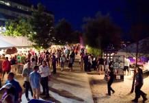The Toronto Wine and Spirit Festival at Sugar Beach