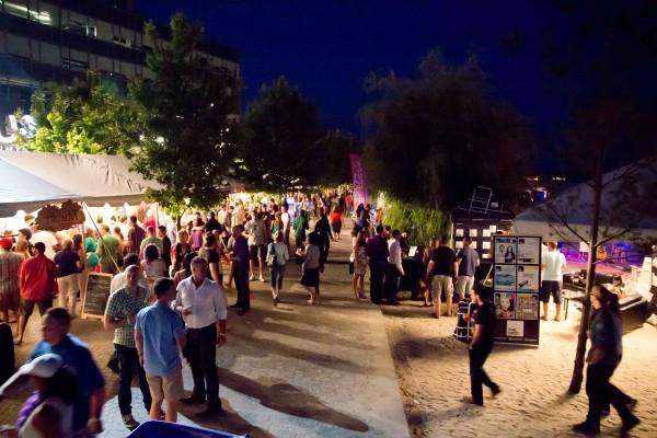 The Toronto Wine and Spirit Festival at Sugar Beach