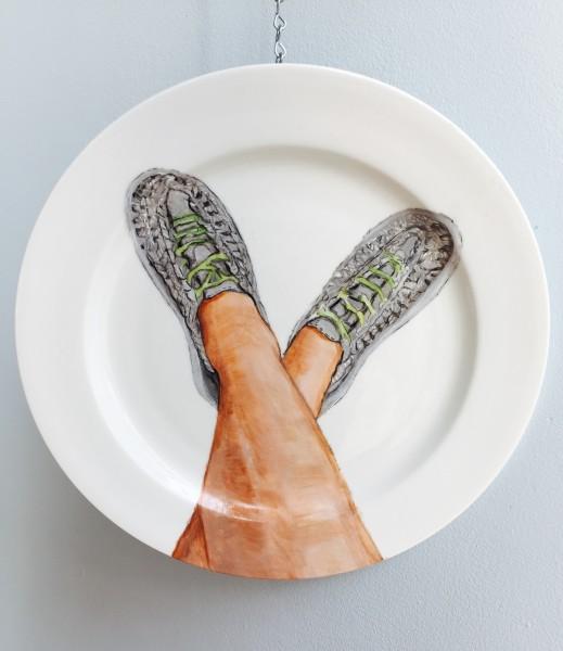 Custom plate legs with KEEN's UNEEK shoes