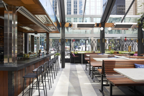 Earls Kitchen and Bar Toronto renovation