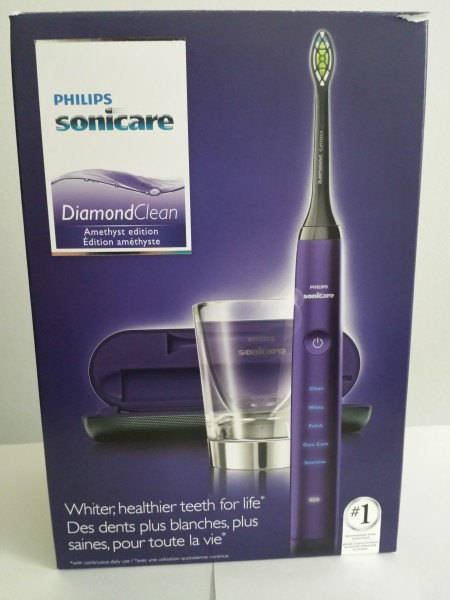Box for Philips Sonicare DiamondClean Amethyst Edition