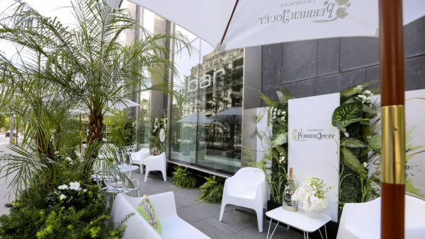L'Eden Pop-up Patio at Four Seasons Hotel Toronto during Toronto International Film Festival