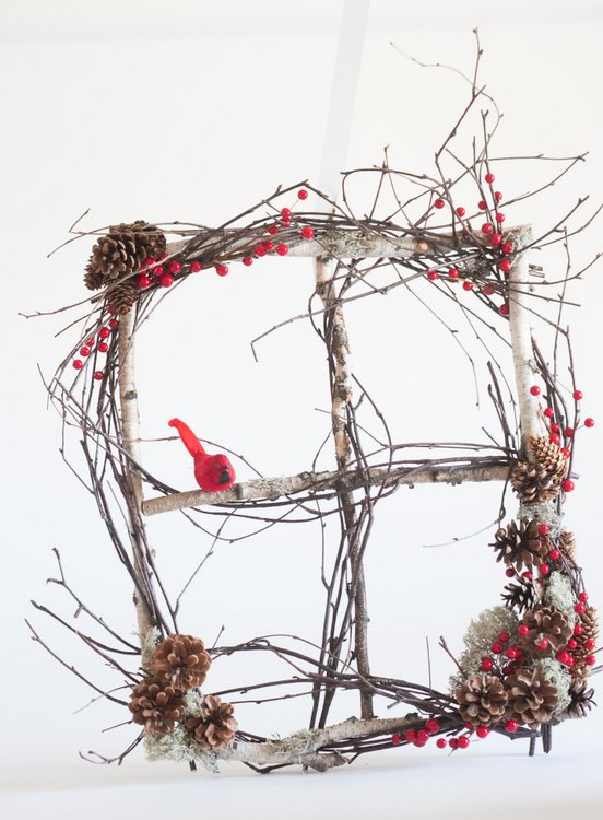 Holiday decor at Holiday Market and Open House at Toronto Botanical Garden
