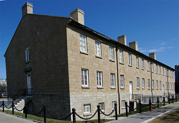 Stanley Barracks at Exhibition Place, photo credit Tubadad54 - Own work, CC BY 3.0, https://commons.wikimedia.org/w/index.php?curid=6426629