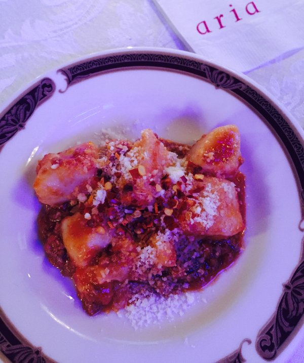 Gnocchi from Aria at Eva's Taste Matters at Liberty Grand in Toronto